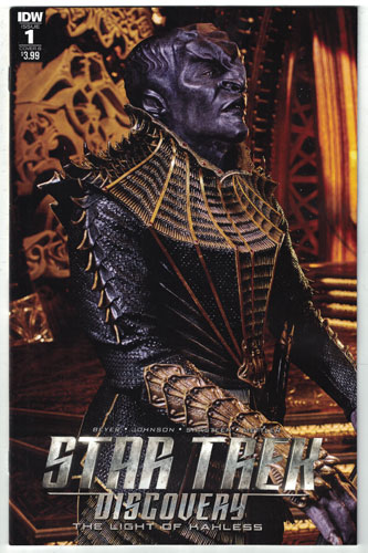 STAR TREK: DISCOVERY: THE LIGHT OF KAHLESS#1