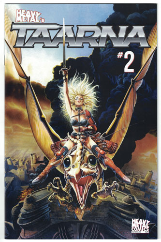 Taarna #2 - Achilleos Cover B