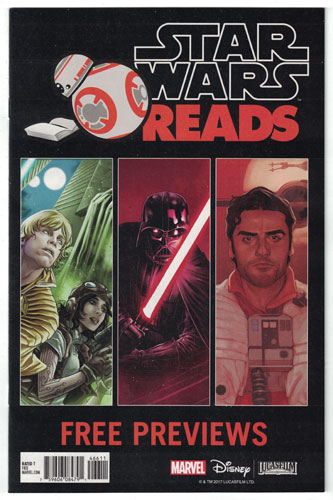 STAR WARS READS FREE SAMPLER#1