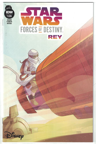 STAR WARS ADVENTURES: FORCES OF DESTINY--REY