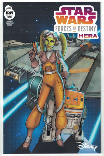 STAR WARS ADVENTURES: FORCES OF DESTINY--HERA
