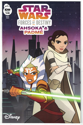 STAR WARS ADVENTURES: FORCES OF DESTINY--AHSOKA AND PADME