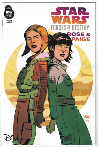 STAR WARS ADVENTURES: FORCES OF DESTINY--ROSE AND PAIGE