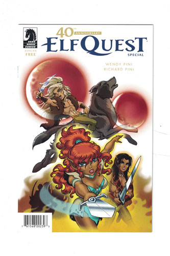 40TH ANNIVERSARY ELFQUEST SPECIAL