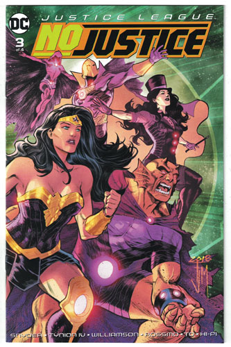 JUSTICE LEAGUE: NO JUSTICE#3