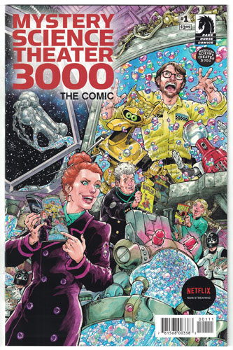 MYSTERY SCIENCE THEATER 3000#1