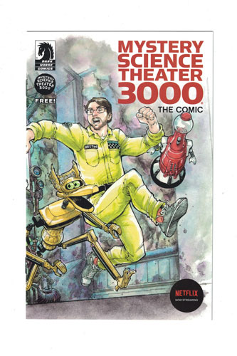 MYSTERY SCIENCE THEATER 3000 THE COMIC ASHCAN EDITION