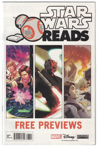 STAR WARS READS 2018 FREE PREVIEWS#1