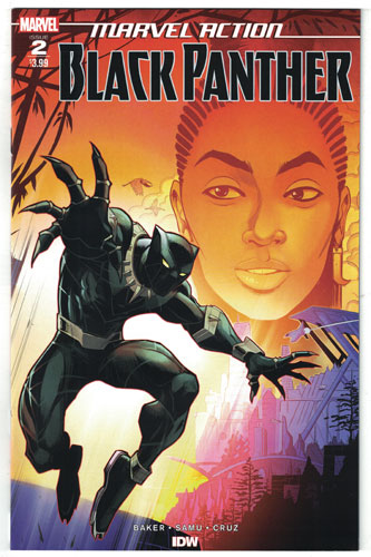 MARVEL ACTION: BLACK PANTHER#2