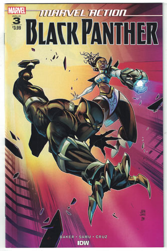 MARVEL ACTION: BLACK PANTHER#3