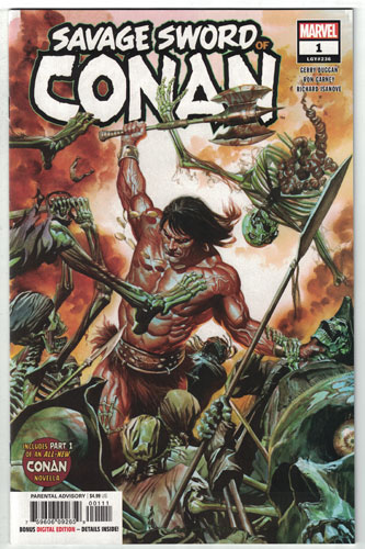 SAVAGE SWORD OF CONAN#1
