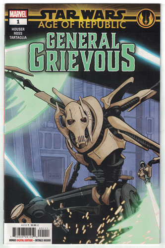 STAR WARS: AGE OF REPUBLIC--GENERAL GRIEVOUS #1