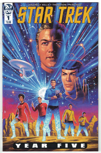 STAR TREK: YEAR FIVE#1