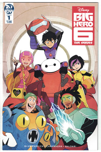 BIG HERO 6: THE SERIES#1