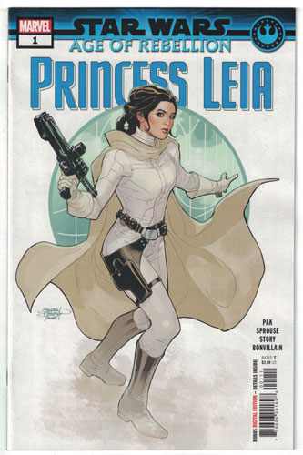 STAR WARS: AGE OF REBELLION--PRINCESS LEIA #1