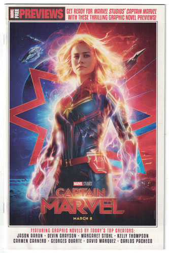 CAPTAIN MARVEL START HERE SAMPLER 2019#1