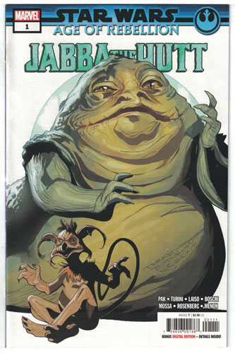 STAR WARS: AGE OF REBELLION--JABBA THE HUTT #1