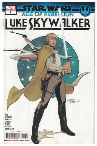 STAR WARS: AGE OF REBELLION--LUKE SKYWALKER #1