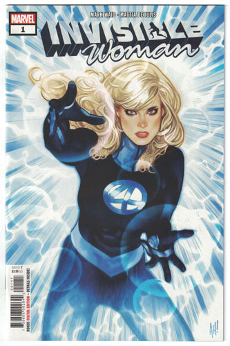 INVISIBLE WOMAN#1