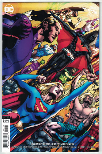 LEGION OF SUPER-HEROES: MILLENNIUM#1