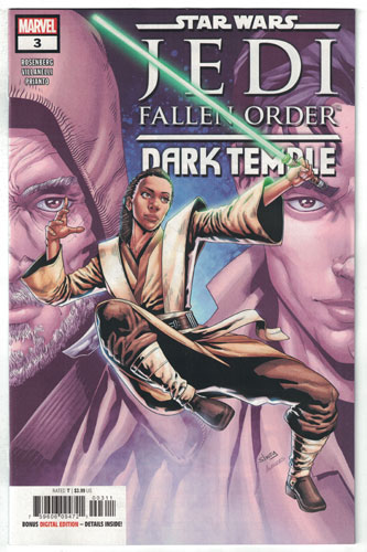 STAR WARS JEDI: FALLEN ORDER--DARK TEMPLE#3