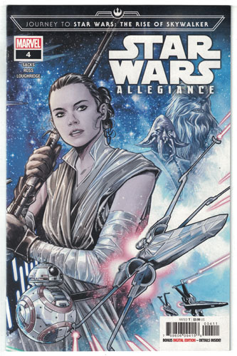 JOURNEY TO STAR WARS: THE RISE OF SKYWALKER--ALLEGIANCE#4