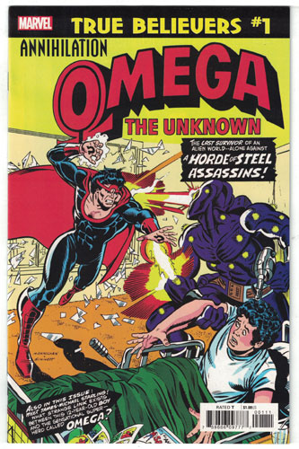 OMEGA THE UNKNOWN#1