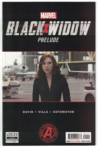 MARVEL'S BLACK WIDOW PRELUDE#1