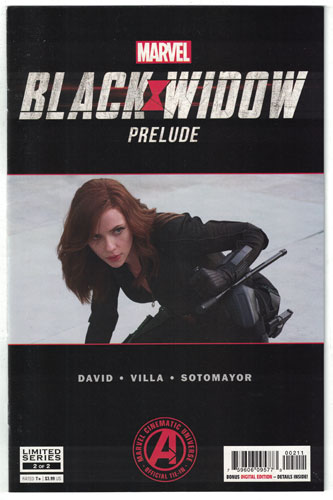 MARVEL'S BLACK WIDOW PRELUDE#2
