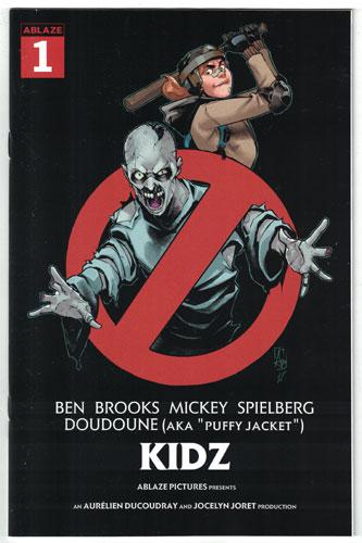 KIDZ #1 Gutierrez 'Ghostbusters' Parody Cover C