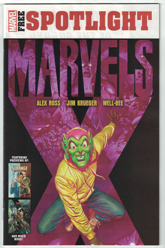 MARVEL SAMPLER NOVEMBER 2019#1