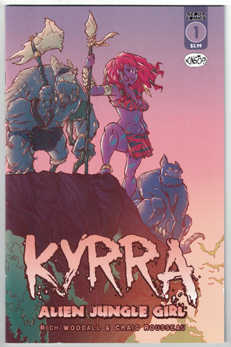 KYRRA: ALIEN JUNGLE GIRL#1