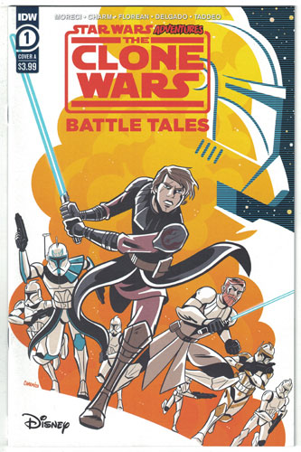 STAR WARS ADVENTURES: THE CLONE WARS--BATTLE TALES#1