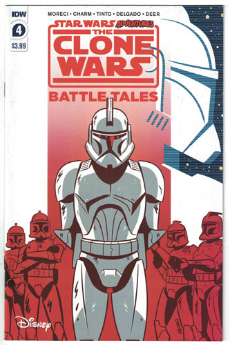 STAR WARS ADVENTURES: THE CLONE WARS--BATTLE TALES#4