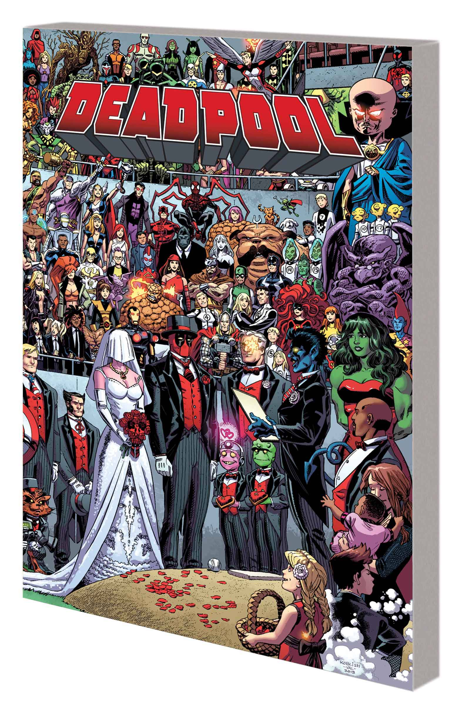 DEADPOOL VOL 05: THE WEDDING OF DEADPOOL