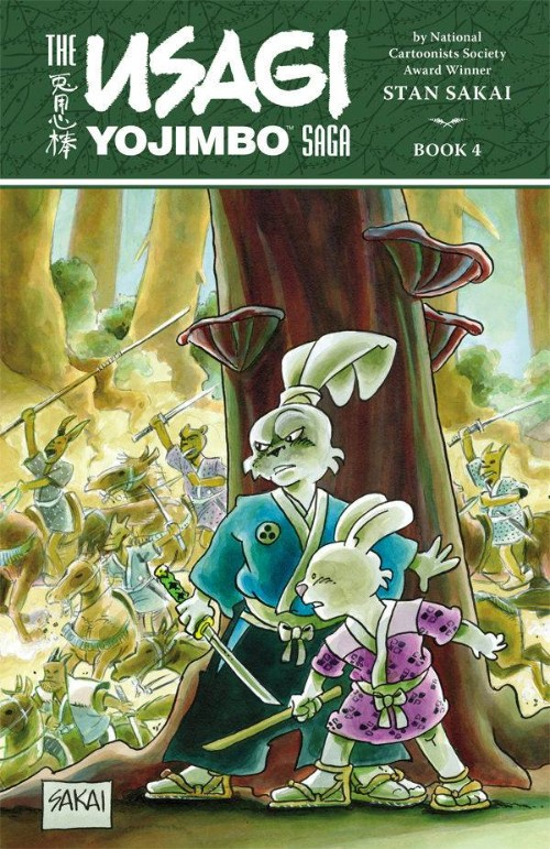 USAGI YOJIMBO SAGA BOOK 04