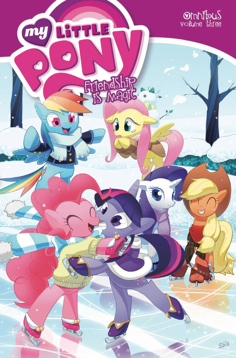 MY LITTLE PONY: FRIENDSHIP IS MAGIC OMNIBUS VOL 03
