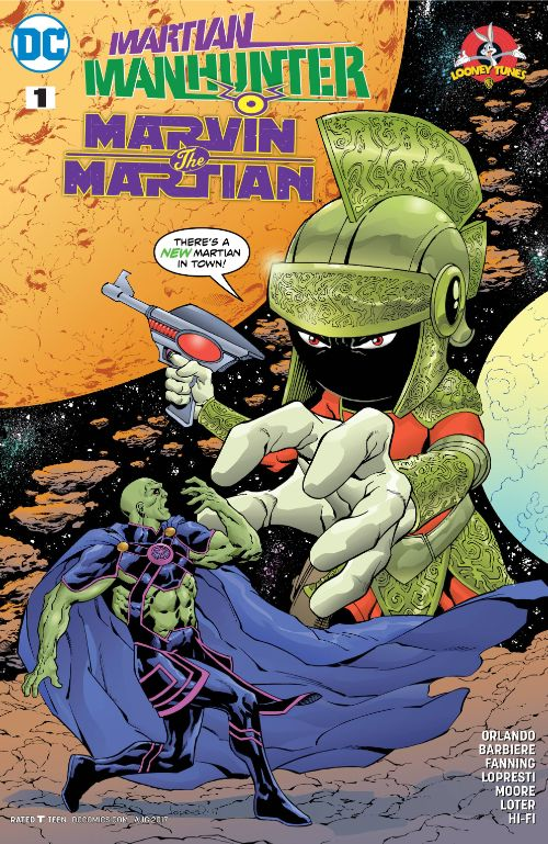 MARTIAN MANHUNTER/MARVIN THE MARTIAN SPECIAL#1