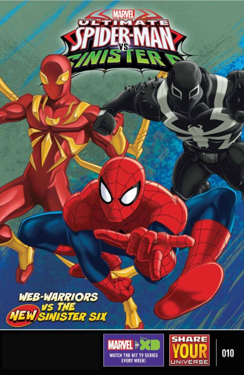MARVEL UNIVERSE ULTIMATE SPIDER-MAN VS. THE SINISTER SIX#10