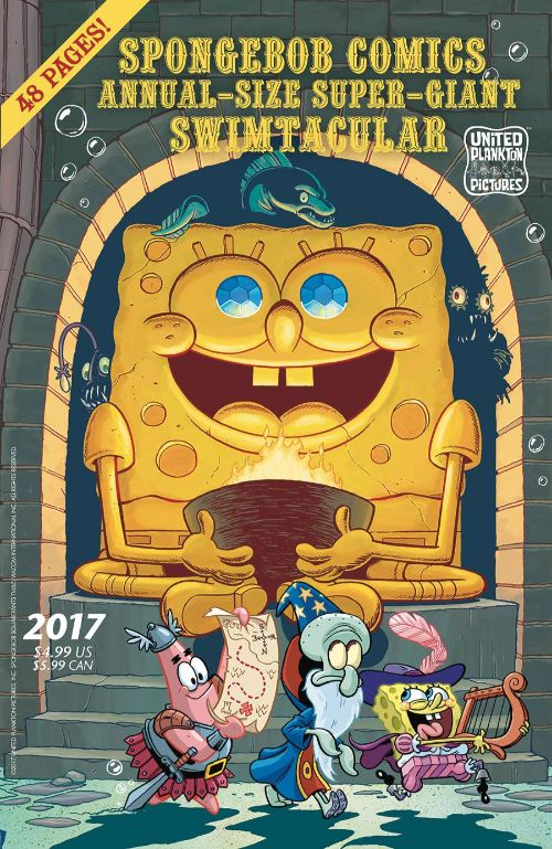 SPONGEBOB COMICS ANNUAL-SIZE SUPER-GIANT SWIMTACULAR#5