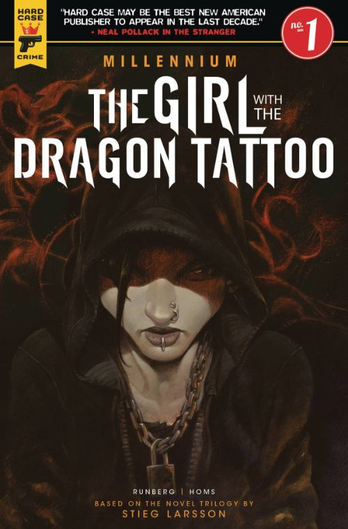 MILLENNIUM--THE GIRL WITH THE DRAGON TATTOO#1