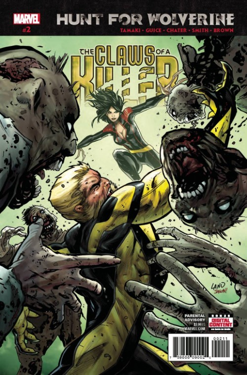 HUNT FOR WOLVERINE: THE CLAWS OF A KILLER#2