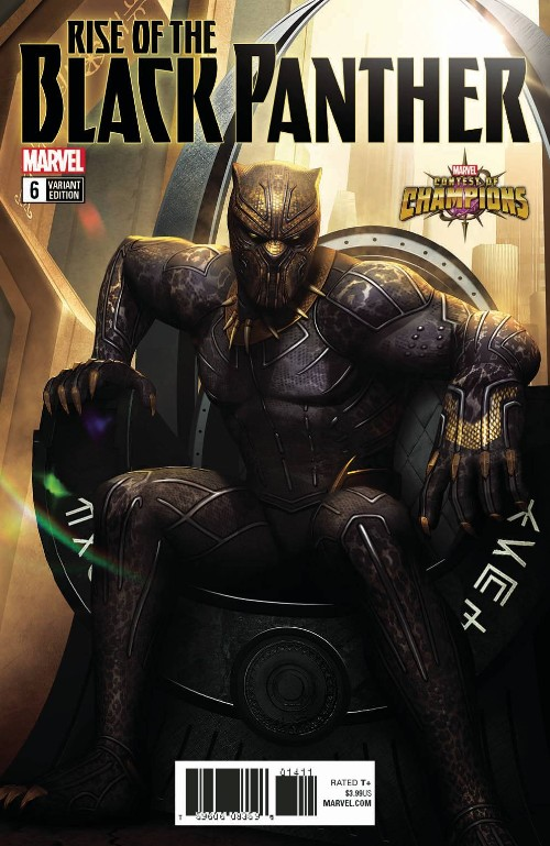 RISE OF THE BLACK PANTHER#6