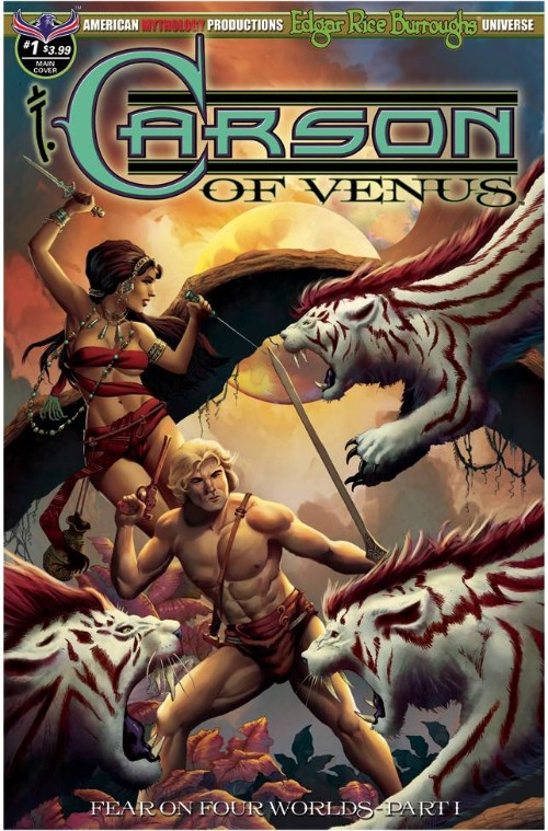 CARSON OF VENUS: FEAR ON FOUR WORLDS#1