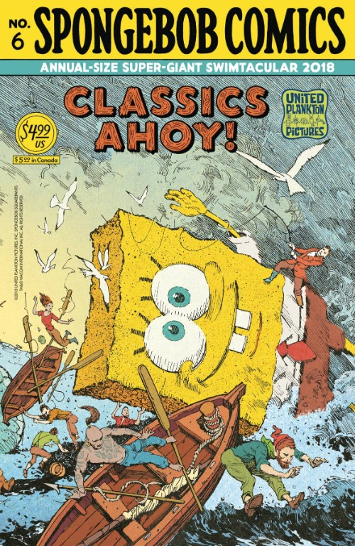 SPONGEBOB COMICS ANNUAL-SIZE SUPER-GIANT SWIMTACULAR#6