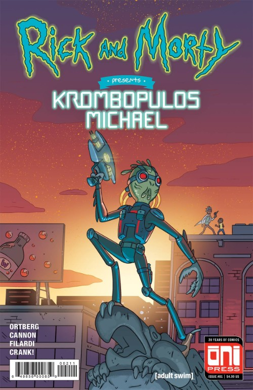 RICK AND MORTY PRESENTS: KROMBOPULOUS MICHAEL#1