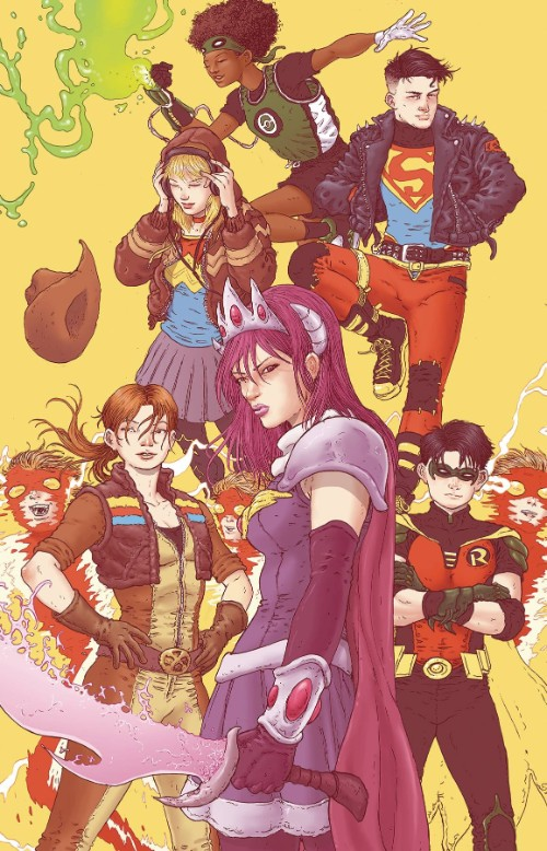 YOUNG JUSTICE#6