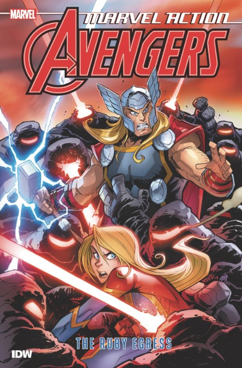 MARVEL ACTION: AVENGERS BOOK 02: THE RUBY EGRESS