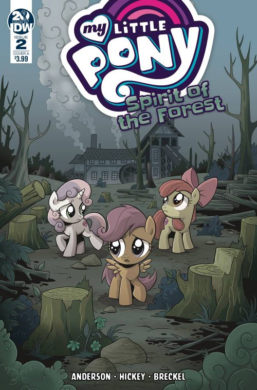 MY LITTLE PONY: SPIRIT OF THE FOREST #2
