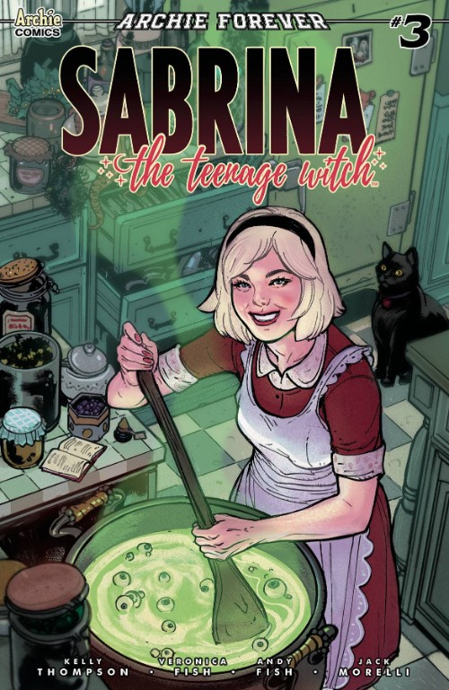SABRINA THE TEENAGE WITCH#3